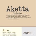 Aspire US Akketta Cricket Flour