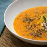 edible insects, simple buffalo carrot soup