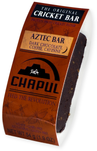 chapul aztec bar, edible insect, review