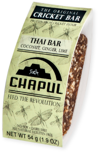 chapul thai bar, edible insects