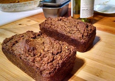 Paleo Sweet Potato Cricket Pecan Bread