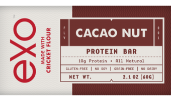 Exo Cacao Nut Cricket Bar