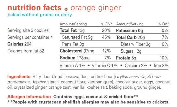 bitty-cricket-cookies-review-orange-ginger-nutrition-bug-vivant