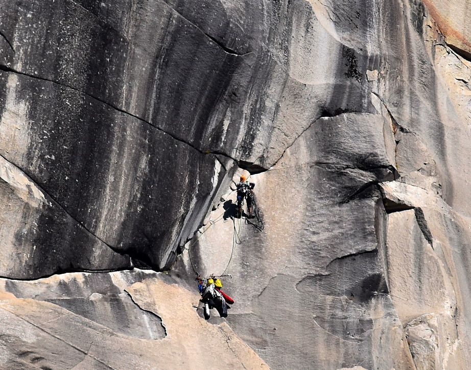 Tom Evans El Cap Reports BugWall Day 12