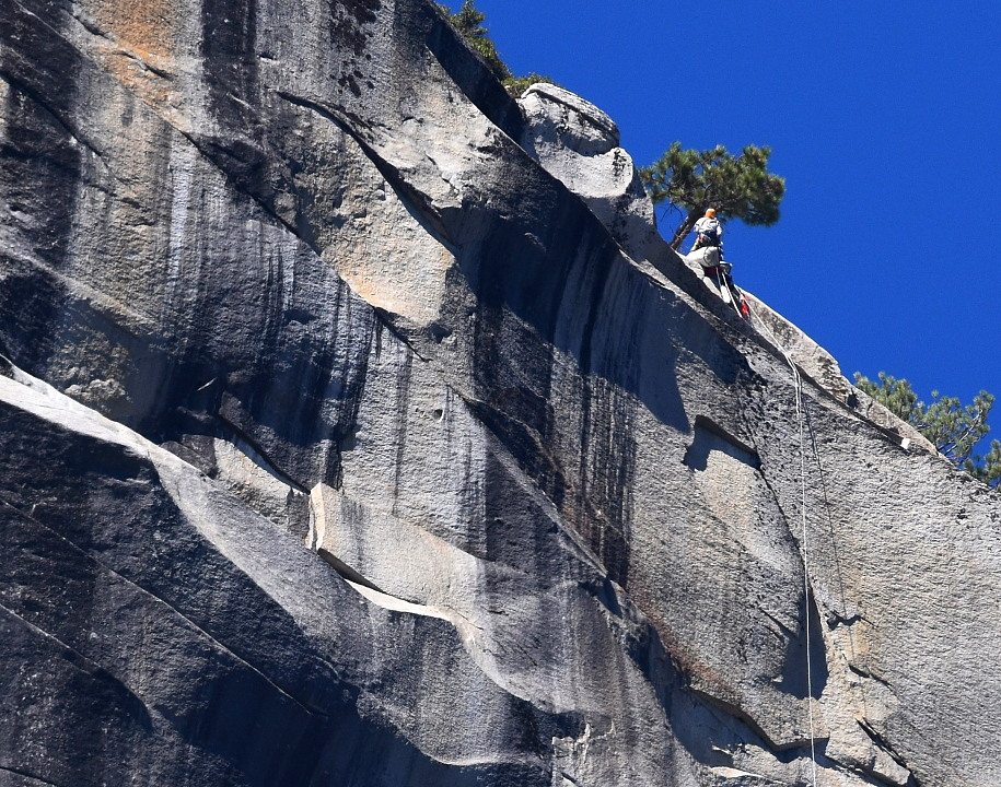Tom Evans El Cap Reports BugWall Day 12a