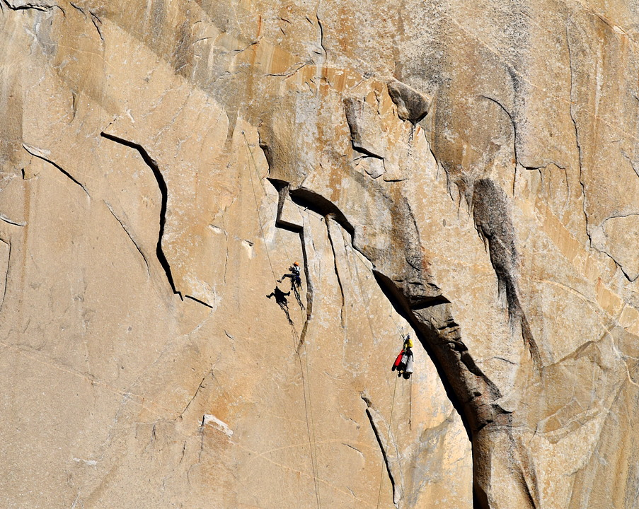 Tom Evans El Cap Reports BugWall Day 5a