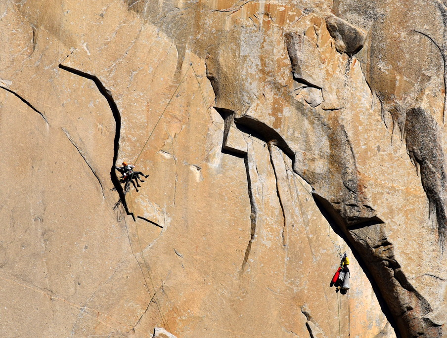 Tom Evans El Cap Reports BugWall Day 5b