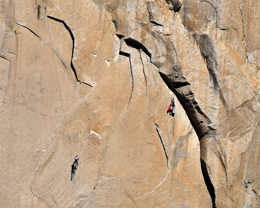 Tom Evans El Cap Reports BugWall Day 5c