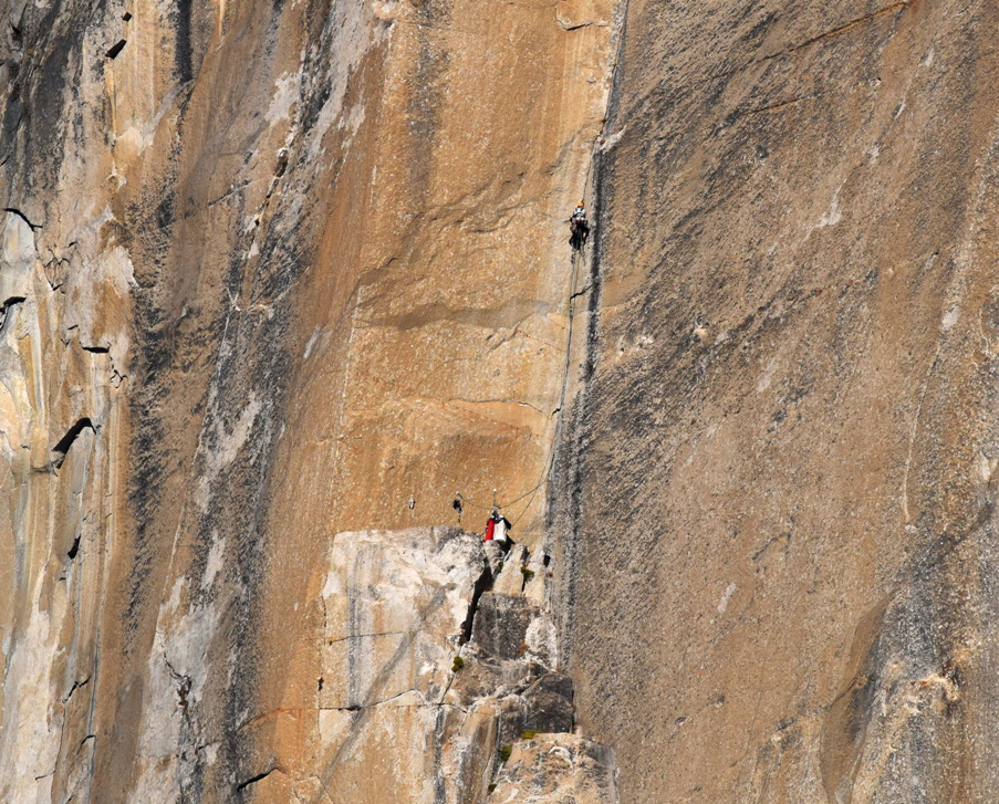 Tom Evans El Cap Reports BugWall Day 9