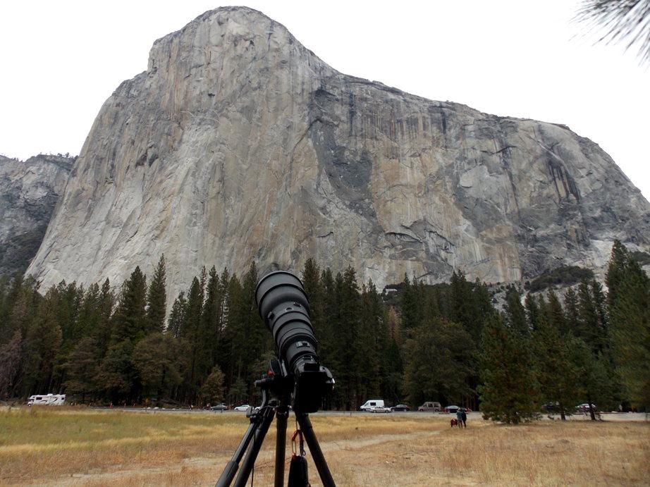Tom Evans El Cap Reports BugWall Day Meadow Shot